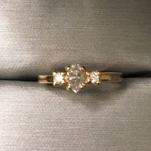 Jewelry - Final price 14k diamond ring